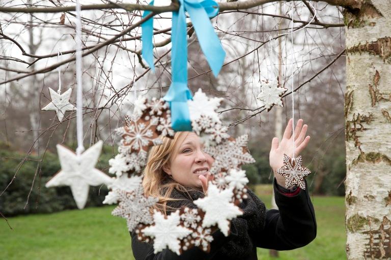 Helen Jermyn cookie wreath Ceri Olofson