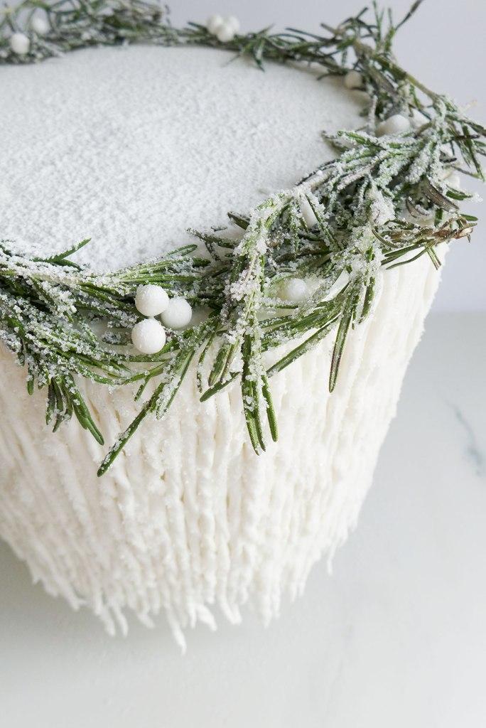 Rosemary-cake-wreath